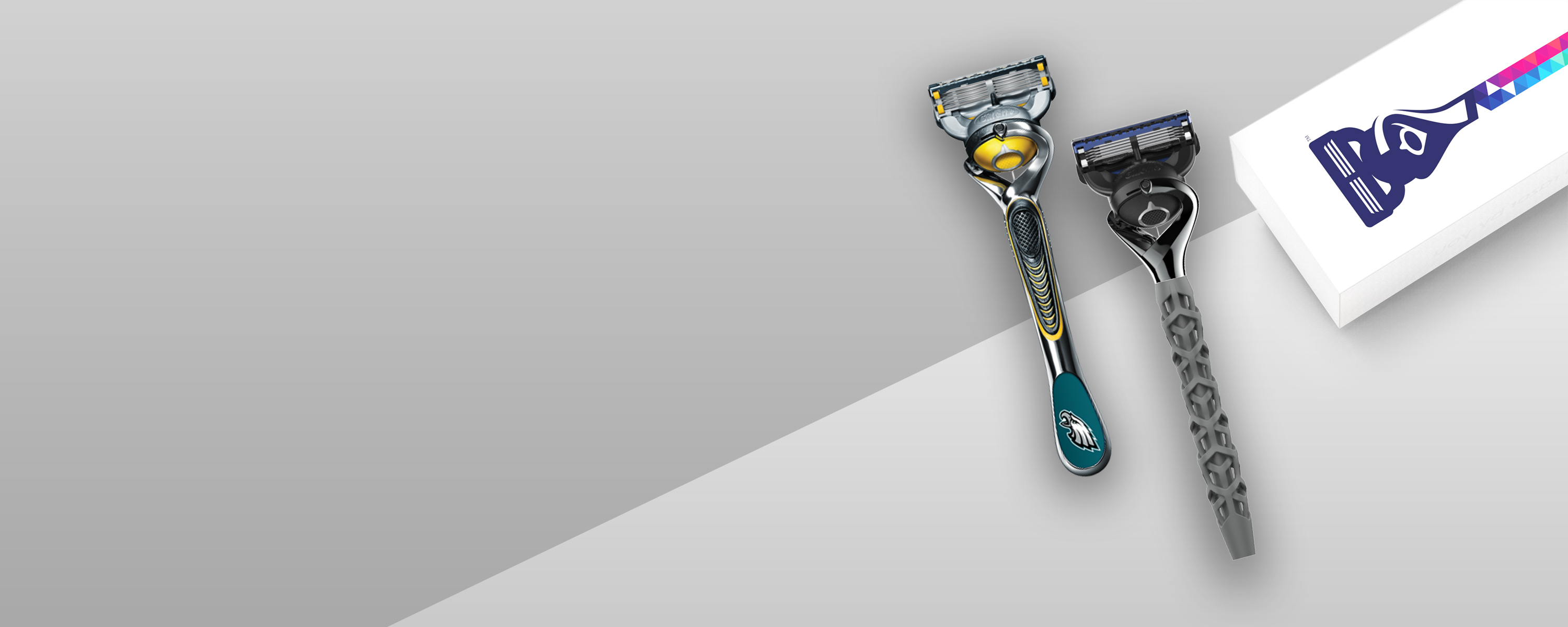 Custom your shave with a personalized Gillette ProShield razor handle